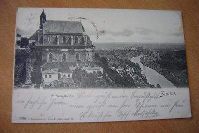 Znojmo-Kristuv kostel-1900