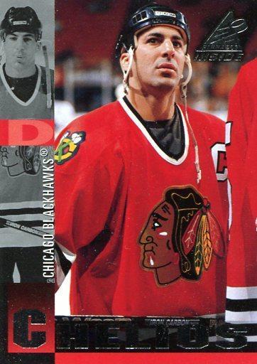 Chris Chelios - Pinnacle Inside 97/98 - Sportovní sbírky