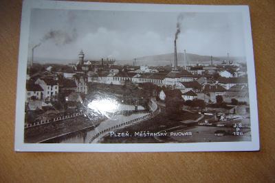 Plzeň-měšťanský pivovar-1922