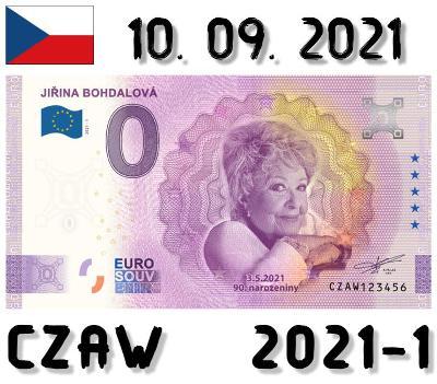 0 Euro Souvenir | JIŘINA BOHDALOVÁ | CZAW | 2021