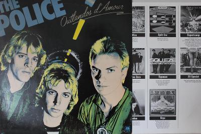 The Police – Outlandos D'Amour LP 1978 vinyl NL 1.press super stav EX+