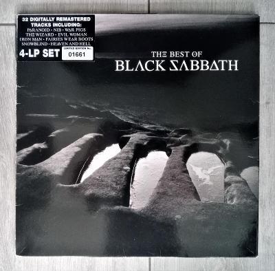 Black Sabbath – The Best Of Black Sabbath /4LP/