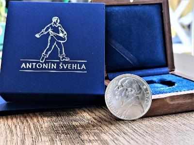 Stříbrná medaile Antonín Švehla 1933/2021, KREMNICE, NOVINKA!