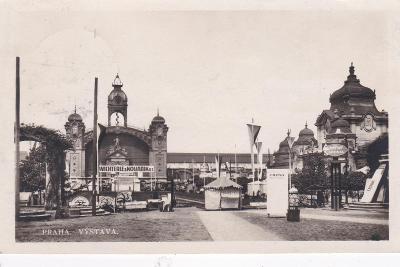 Výstava Praha, příl. razítko slet-výstava 1932 - Slezská Ostrava.