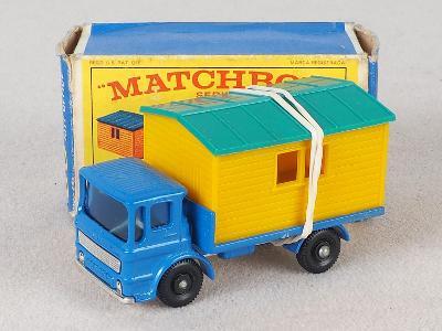 MATCHBOX REGULAR WHEELS RW60 -TRUCK WITH SITE OFFICE- PŮVODNÍ KRABIČKA