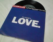ARTHUR BAKER-THE MESSAGE IS LOVE-SP-1989.