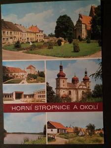HORNÍ STROPNICE - NOVÉ HRADY - DOBRÁ VODA - České Budějovice - VF z29