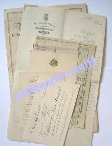 1905-1946 dokumenty, poslanec, statkář Karel Holý, České Budějovice