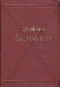 Die Schweiz Karl Baedeker 1927