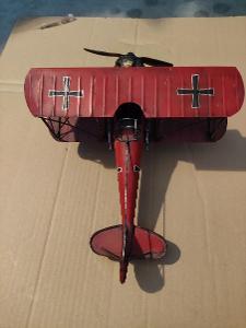 Staré německé kovové letadlo