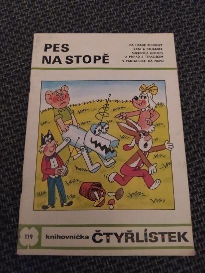 čtyřlístek č.119 dobrý - Komiksy