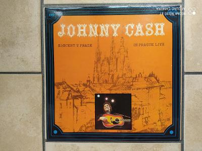 LP Johnny Cash - Koncert v Praze