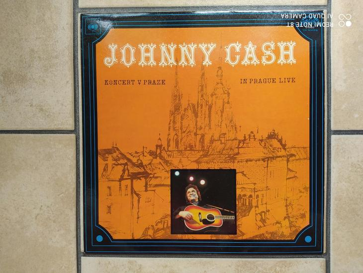 LP Johnny Cash - Koncert v Praze - Hudba