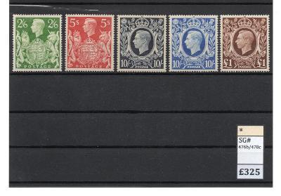 VELKÁ BRITÁNIE 1939 až 48 * - 325 Liber