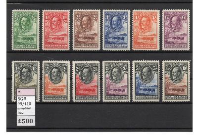 Anglické kolonie - BECHUANALAND 1932 * - 500 Liber