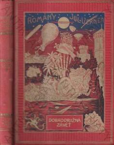 Dobrodružná závěť Julius Verne 1928 Jos.R. Vilímek