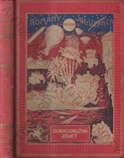 Dobrodružná závěť Julius Verne 1928 Jos.R. Vilímek - Knihy