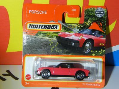 '71 PORSCHE 914 - MATCHBOX