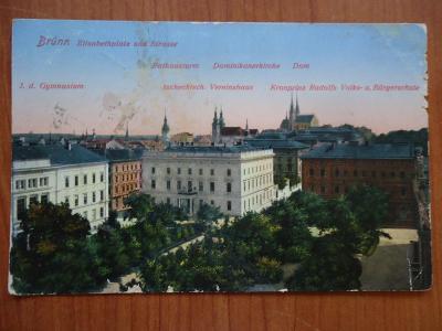 Brünn - K.u.k.Bahnhofkomando...12.7.1915