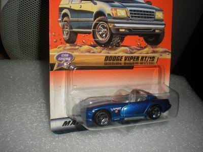 Matchbox Dodge Viper RT 10 r.1998 NEROZBALENO!!