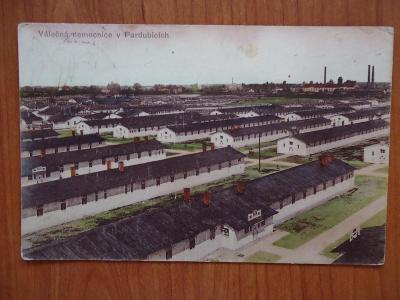 Pardubice - Válečná nemocnice....8.2.1916