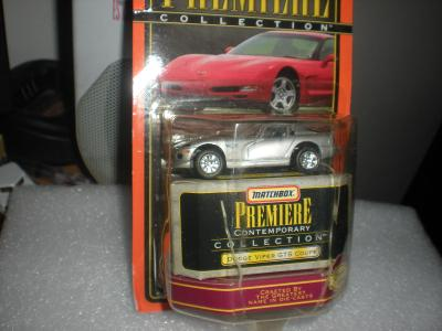 Matchbox PREMIERE Dodge Viper GTS Coupe r.1998 NEROZBALENO!!