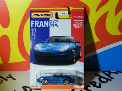 PORSCHE 911 CARRERA CABRIOLET  - MATCHBOX  FRANCE