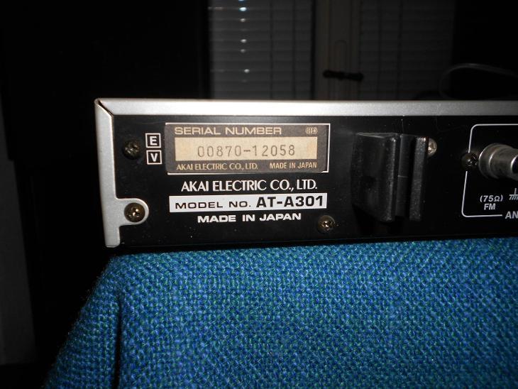AKAI AT-A301 - TV, audio, video