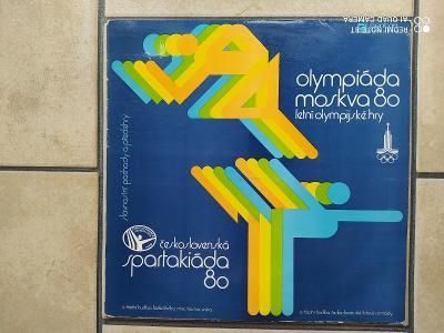 LP Olympiáda Moskva a Československá Spartakiáda 1980