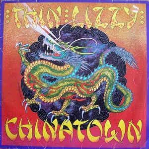 THIN LIZZY - Chinatown - CD 1980 hard rock , schází zadní příloha