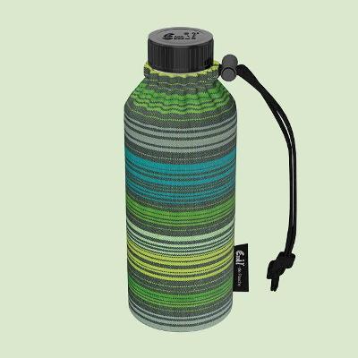 Emil - die Flasche® Skleněná láhev na nápoje v termoobalu SPRING 0,4L