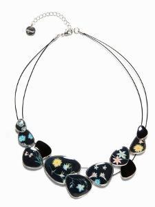DESIGUAL collar Romantic luxusní náhrdelník/ 1,- nový