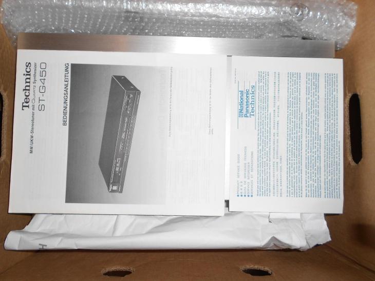 Technics ST-G450 Retro!!! - TV, audio, video