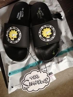 Dívčí / dámské pantofle Simpsons