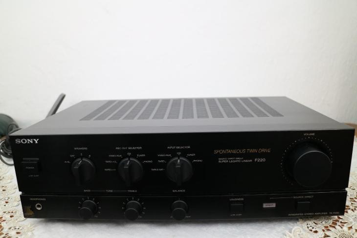 Zesilovač SONY TA-F220 - TV, audio, video