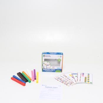 Naučná hra Learning Resources Mathlink Cubes