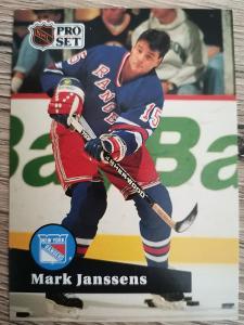 Karta Pro Set 91-92 č. 158 Mark Janssens