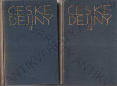 České dějiny I./I. a I./2. 2sv. V. Novotný 1912/13