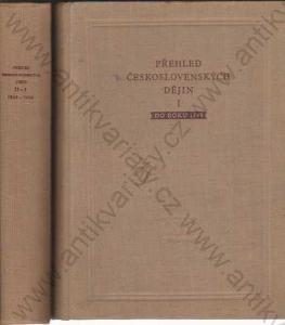 Přehled československých dějin do roku 1900 2 sv
