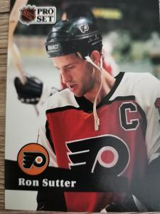 Karta Pro Set 91-92 č. 178 Ron Sutter