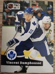 Karta Pro Set 91-92 č. 224 Vincent Damphousse