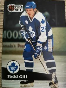 Karta Pro Set 91-92 č. 226 Todd Gill