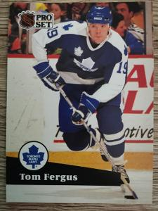 Karta Pro Set 91-92 č. 234 Tom Fergus