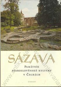 Sázava, památník staroslověnské kultury v Čechách