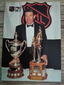Karta Pro Set 91-92 č. 325 Dave Taylor King Clancy Trophy