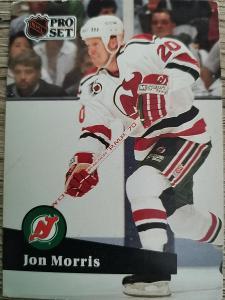 Karta Pro Set 91-92 č. 424 Jon Morris