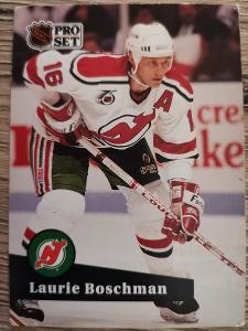 Karta Pro Set 91-92 č. 426 Laurie Boschman