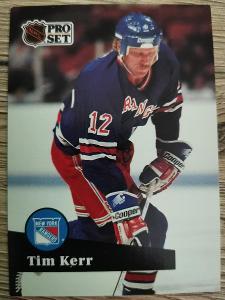 Karta Pro Set 91-92 č. 446 Tim Kerr