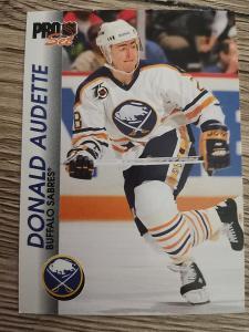 Karta Pro Set 92-93 č. 18 Donald Audette