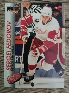 Karta Pro Set 92-93 č. 40 Sergei Fedorov